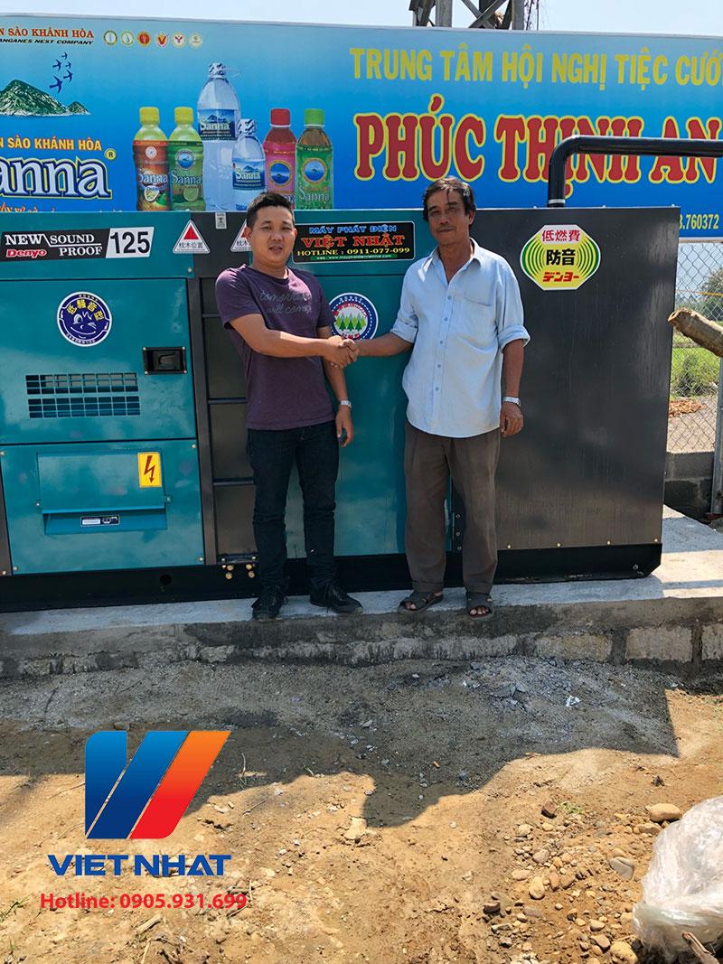 Cho thuê máy phát điện Nha Trang
