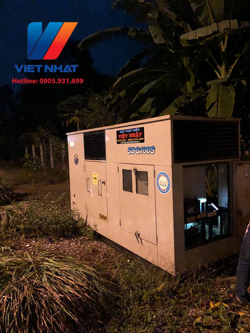 Cho thuê máy phát điện Sóc Trăng