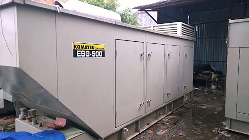 Máy phát điện 500kva Komatsu