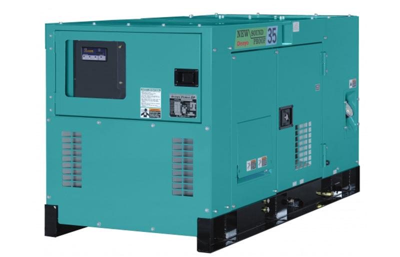 Máy phát điện Denyo 30kVA động cơ KUBOTA