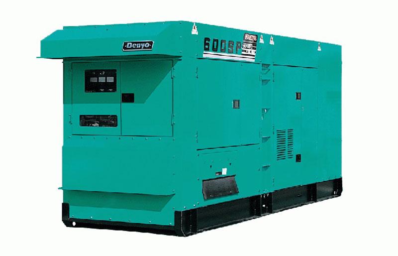 Máy phát điện Denyo 550kVA đông cơ KOMATSU