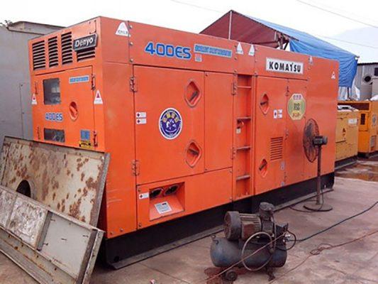 Máy phát điện 400kva Komatsu