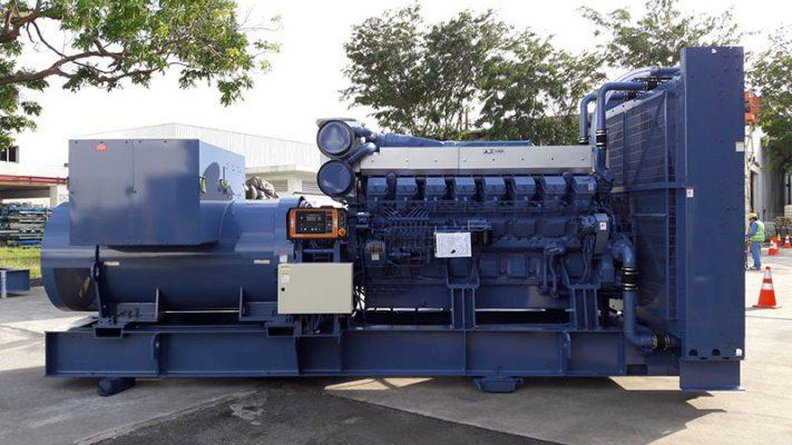 Máy phát điện Mitsubishi 750kVA