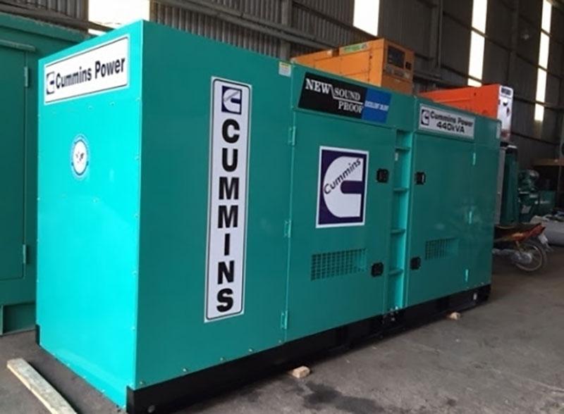 Máy phát điện Cummins 450kVA thương hiệu Mỹ