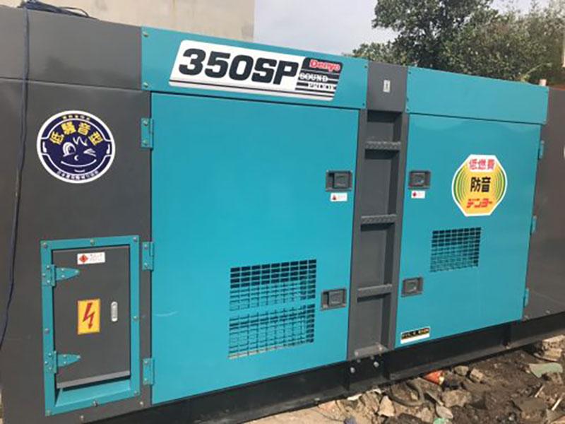 Máy phát điện Denyo 350 kVA động cơ KOMATSU