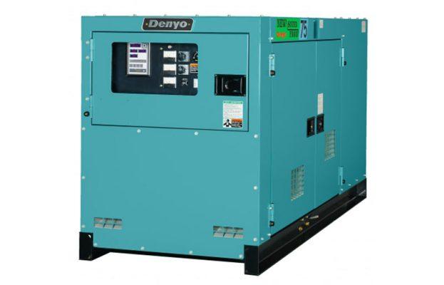 Máy phát điện Denyo 65kVA động cơ ISUZU siêu chống ồn