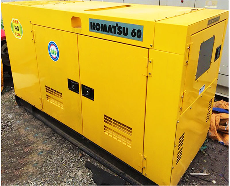 Máy phát điện Komatsu 60kva